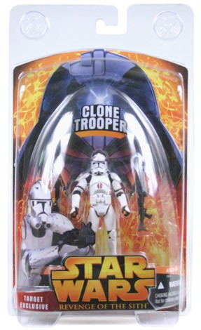 Star Wars ROTS Clone Trooper Target Exclusive