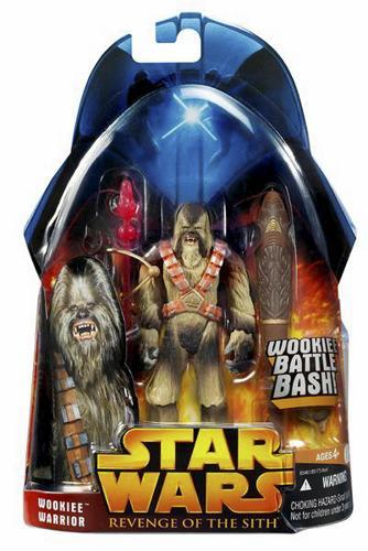 Star Wars ROTS Wookiee Warrior C-9