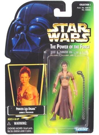 Star Wars POTF2 Slave Leia