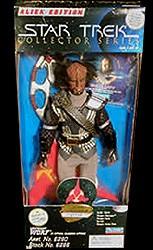 Star Trek Lieutenant Worf in Ritual Klingon Attire