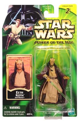 Star Wars POTJ Eeth Koth Jedi Master C-8