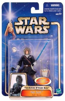 Star Wars Saga Han Solo Hoth Rescue C-7