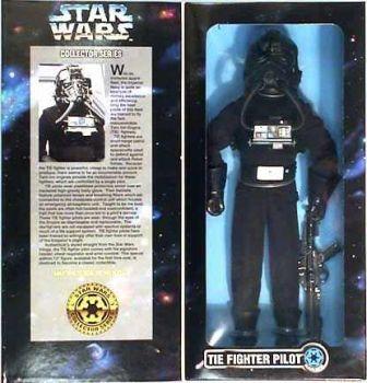 "Star Wars POTF2 12"" Tie Figther Pilot"