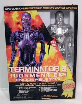 Terminator 2 Endoskeleton 15 Inch Toy island