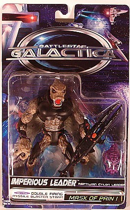 Trendmasters Battlestar Galactica Imperious Leader