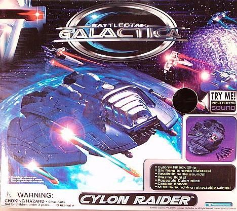 Trendmasters Battlestar Galactica Cylon Raider