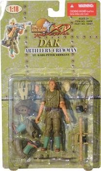 21st Century XD DAK Machine Gunner Lt. Karl-Peter Erdmann