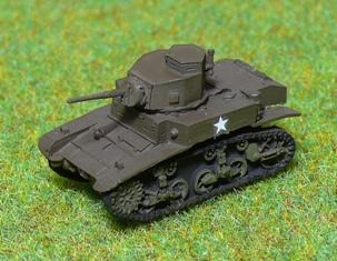 Panzer Depot 1/144 Scale US M3 Stuart