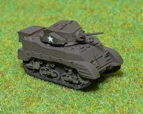 Panzer Depot 1/144 Scale US M5A1 Stuart