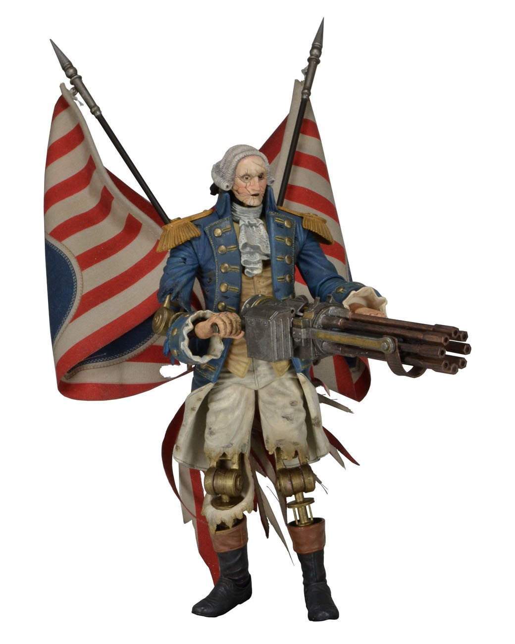 "NECA Bioshock Infinite – 93 Action Figure – George Washington ""Heavy Hitter"" Patriot"