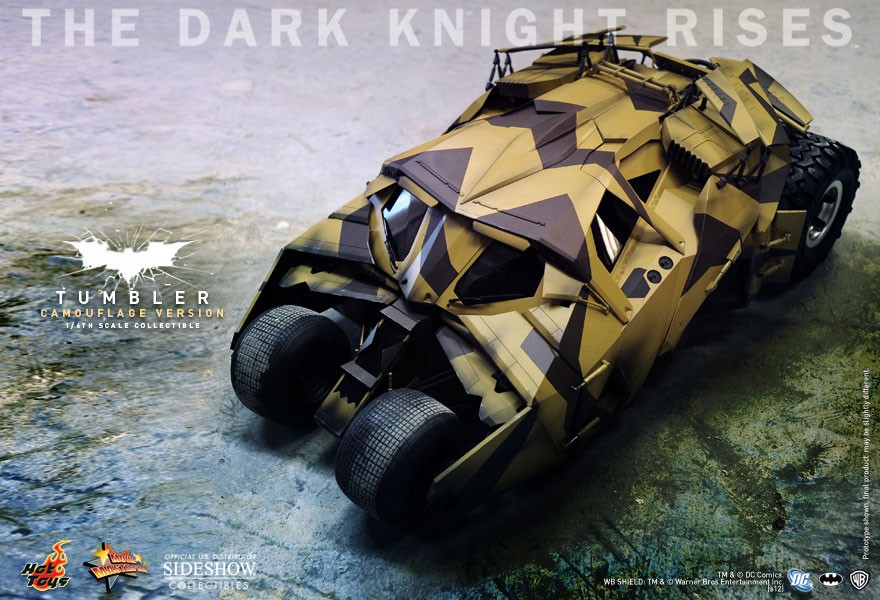 Hot Toys Batmobile - Tumbler (Camouflage Version) 1/6