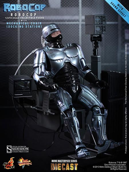 Hot Toys RoboCop with Mechanical Chair 1/6