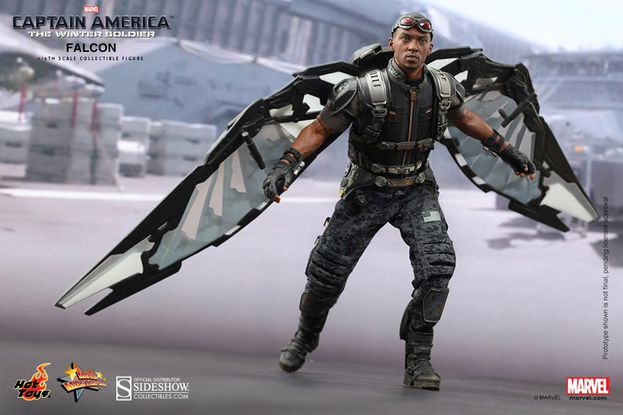 Hot Toys Captain America: The Winter Soldier Falcon 1/6