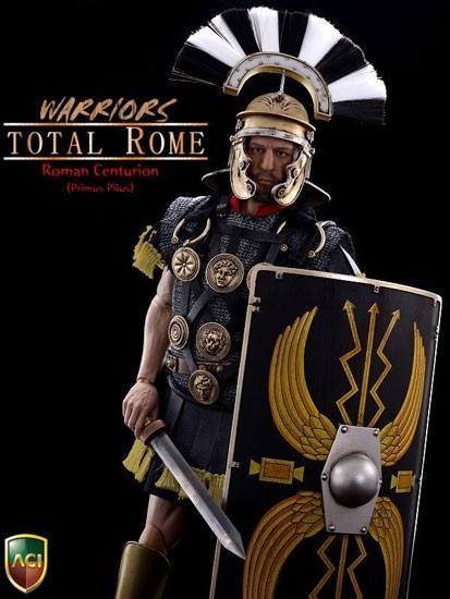 ACI Warriors Total Rome: Roman Centurion (Blue) - ACI-05A 1/6