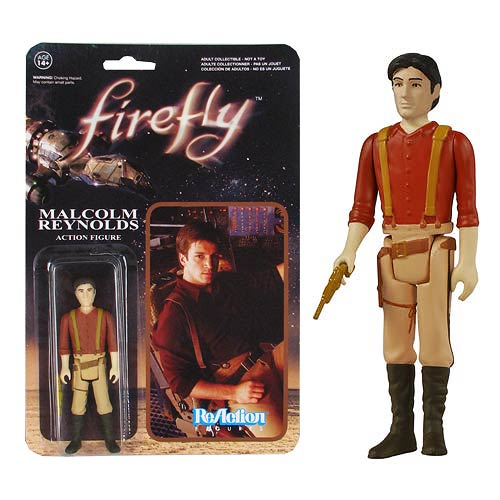 Firefly Malcolm Reynolds ReAction 3 3/4-Inch Retro Action Figure