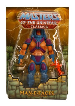 Mattel Matty Collector Masters of the Universe Man-E-Faces