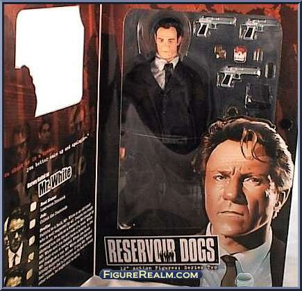 Reservoir Dogs Palisades 12 Inch Action Figure Mr. White **Non Mint Box**