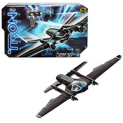 TRON Legacy Three Man Light Jet Vehicle