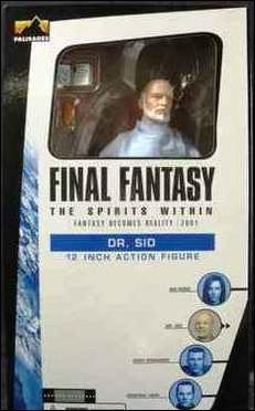Palisades Final Fantasy The Spirits Within Dr. Sid 1/6