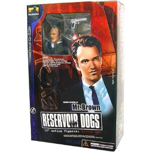 Reservoir Dogs Palisades 12 Inch Action Figure Mr. Brown **Damaged box**