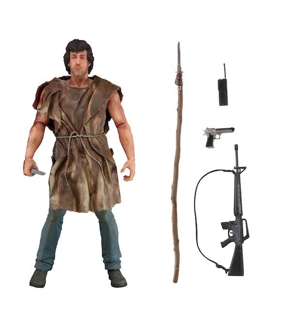 "Neca Rambo – 73 Action Figure – ""Survival"""