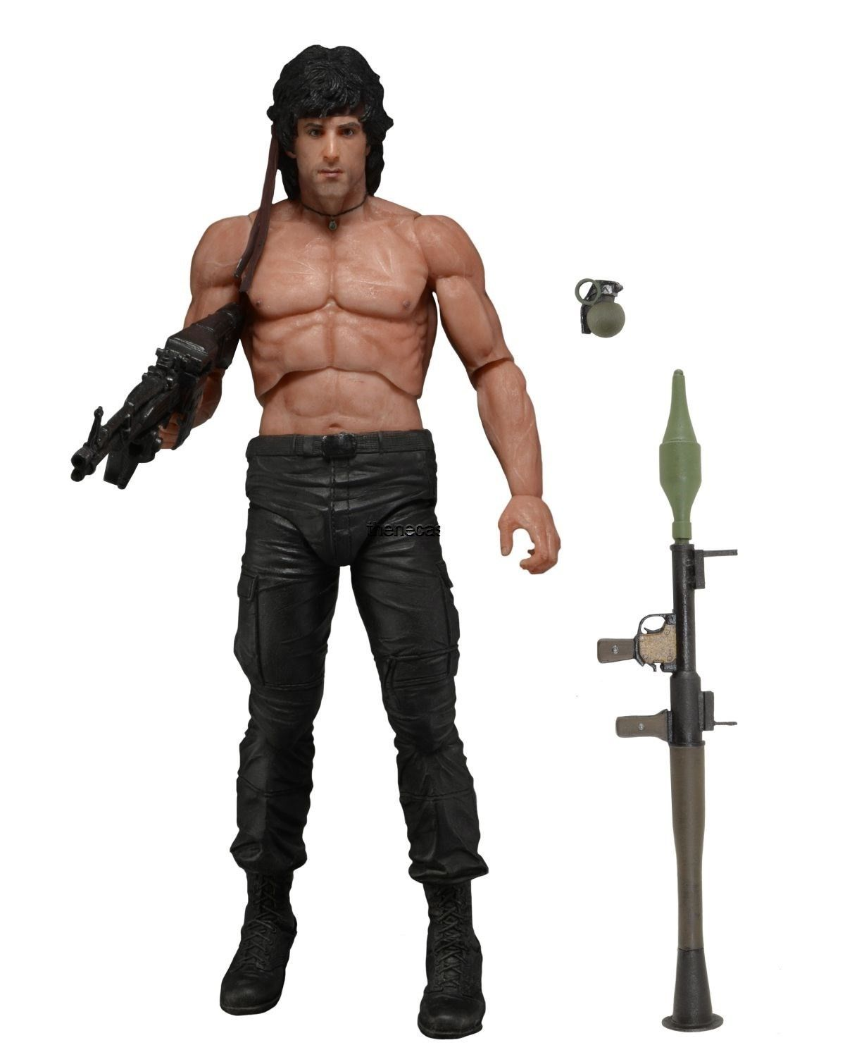 "NECA First Blood Part II - 7"" Scale Action Figure - John Rambo - Version 1"