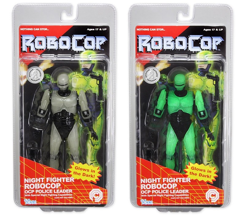 Neca Night Fighter Robocop OCP Police Leader