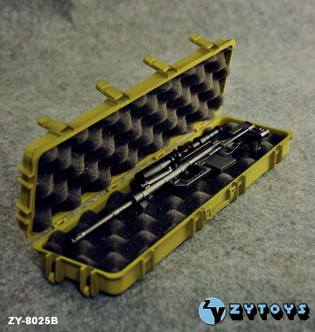 ZY Toys 1/6 Weapons Case Tan