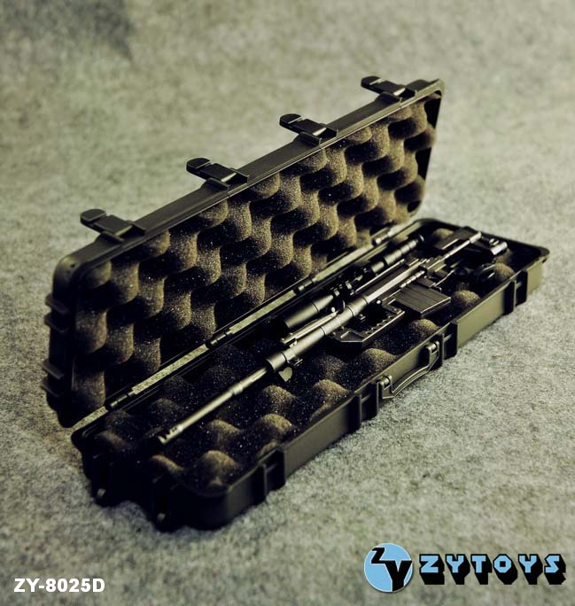 ZY Toys 1/6 Weapons Case Black