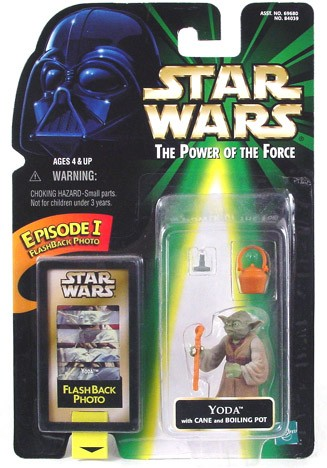 Star Wars POTF2 Flashback Yoda