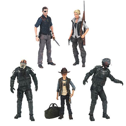 McFarlane The Walking Dead TV Series 4 Action Figure Set of 5