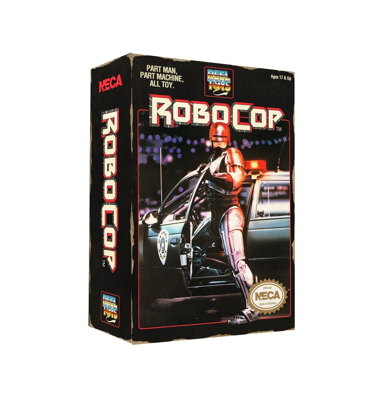 "NECA Robocop - 7"" Scale Figure - Robocop Classic Video Game Appearance"