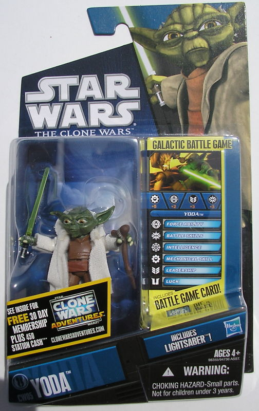 Star Wars Clone Wars Yoda CW05