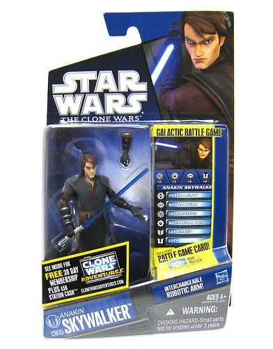 Star Wars Clone Wars Anakin Skywalker CW45