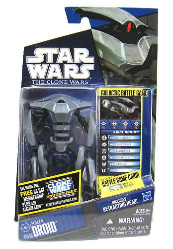 Star Wars Clone Wars Aqua Droid CW46