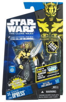 Star Wars Clone Wars Savage Opress CW55