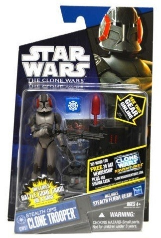 Star Wars Clone Wars Stealth Ops Clone Trooper CW57