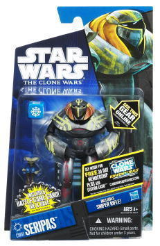 Star Wars Clone Wars Seipas CW61