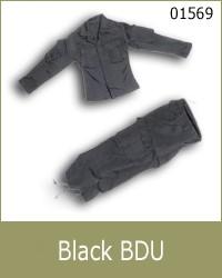 TOyrrific Covert Ops Black BDU