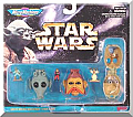 Star Wars Micro Machines Mini Head Set Collection II