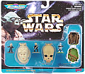 Star Wars Micro Machines Mini Head Set Collection IV