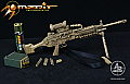Arms-Rack 1/6 MK 48 Light Machine Gun (LMG) in Sand Camo