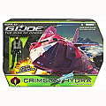 G.I. JOE THE RISE OF COBRA CRIMSON HYDRA with AERO-VIPER