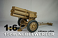 DID 1/6 Scale 15cm NEBELWERFER (ordinance yellow)
