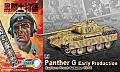 Dragon Diecast 1/72 Panther G Early Production, Eastern Front Autumn 1944 - Black Knight Comic Series