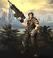 NECA Bulletstorm – 73 Action Figure – Grayson Hunt