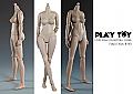 Play Toy Female Body (Medium Bust) 1/6