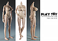 Play Toy Female Body (Large Bust) 1/6