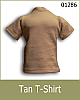 TOyrrific Covert Ops Tan T-Shirt
