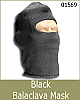 TOyrrific Covert Ops Black Balacava Mask